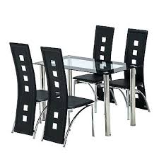 5 piece glass dining set 5 piece glass dining table set 4 chair breakfast kitchen dining 5 piece glass dining set