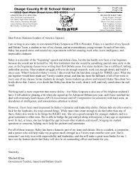 Sample Teacher Recommendation Letter Stunning Recommendation Letter For FBLA Kline