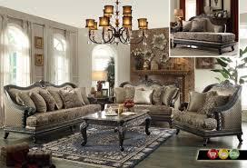 Victorian Style Living Room Furniture European Elegant Living Room Set Carameloffers
