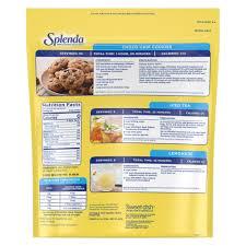 splenda granulated sweetener zero