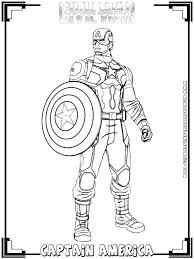 Captain America The Winter Soldier Coloring Pages J3206 Captain