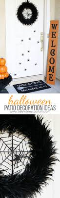 ... Halloween Patio Decoration Ideas