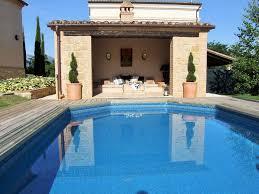 Hunters Lodge Luxus 1 Schlafzimmer Haus Mit Exklusivem Pool Gualdo