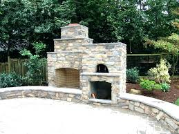 outdoor fireplace and pizza oven combination plans me combo how to build an