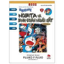 Doraemon Tranh Truyện Màu - Tập 8 - Nobita Và Binh Đoàn Người Sắt   Nhà  sách Fahasa
