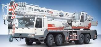 Zoomlion 50 Ton Crane Load Chart Make Zoomlion Model C 50 Cap 55 Qty 2 Tara Chand