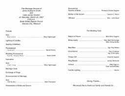 Wedding Ceremony Templates Free Free Printable Program Templates For Church Marvelous