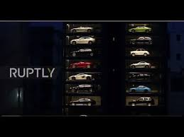 Singapore Car Vending Machine Video Simple Singapore These Are Not Toys See World's Largest Luxury Car