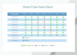 weekly report format in excel free download project status report template excel download filetype xls downloads