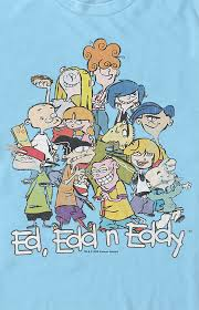 It is broadcast in about 220 territories around the. Ed Edd N Eddy Group T Shirt Pacsun