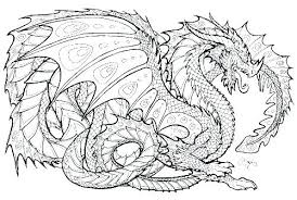 free printable dragon coloring pages for adults. Fine Adults Cool Dragon Coloring Pages Free Printable  Realistic Inside Free Printable Dragon Coloring Pages For Adults F