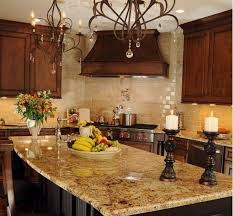 Attractive Tuscan Kitchen Love The Granite Like The Colors And The Backsplash.