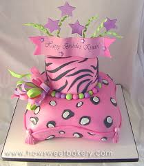 Birthday Cakes Fairy Princess Cake Fancy Nancy Cake How Sweet It