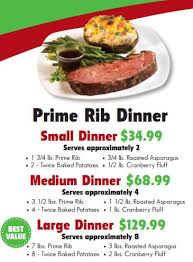prime rib dinner flyer. Wonderful Rib But Donu0027t Worry Even If You Win Still Have Plenty Of Time To  Order One These Meal Options For Your Favorite Holiday Gathering Intended Prime Rib Dinner Flyer 2