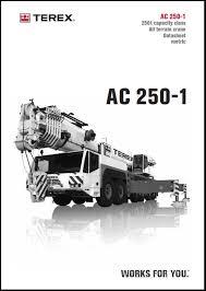 Demag Ac500 2 Load Chart Terex Demag Ac 250 2 Chart