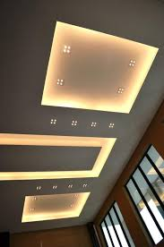 modern spot lighting. Overall View Of Modern Ceiling Design In Living Hall With Samsung LED Spot Lights And Cove Lighting T