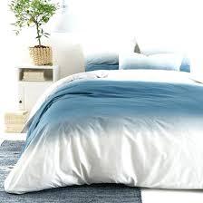 blue ombre bedding mandala santorini