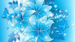 Light Blue Flower Wallpapers - Top Free ...