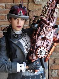 Image result for biggest steampunk nerf gun
