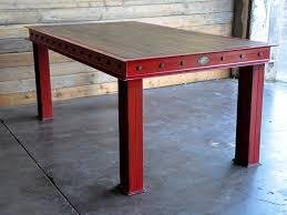 vintage industrial furniture tables design. modren tables firehouse table in vintage industrial furniture tables design