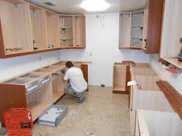 installing kitchen countertops vintage mounting kitchen wall cabinets