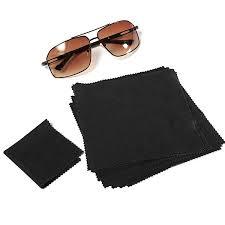 1pcs 15x15cm eyeglasses reading glasses cleaning cloth phone screen cleaner