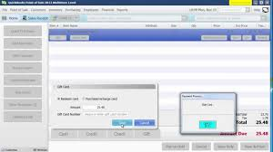 how to sell a gift card redeem a gift card in quickbooks pos