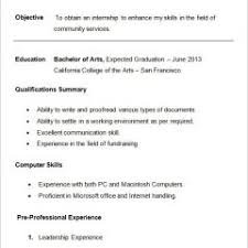 Journalism Resume Examples | Letter Example