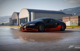 Be sure to check out my playlist of forza horizon 4 cars. Wallpaper Veyron Grand Sport Buggati Wet Road Forza Horizon Images For Desktop Section Igry Download