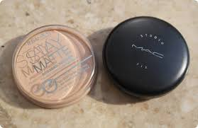 mac studio fix powder plus foundation vs rimmel stay matte pressed powder splurge
