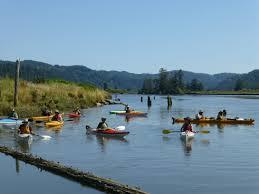 Kayaking Canoeing Paddling Siuslaw Watershed Council