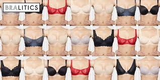 Bra Cup Size Comparison Chart How 10 Bras In The Same Size Actually Fit
