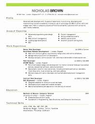 Microsoft Resume Templates Free Best Of 23 Microsoft Word Template