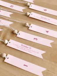 5 easy ways to make your wedding meaningful. Wedding Advent Calendar Entertain The Idea