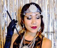 the great gatsby inspired hair makeup