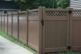 brown vinyl fence panels. Brown Vinyl Fence Panels .