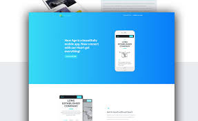 4 to a page template free one page bootstrap app landing template for mobile apps