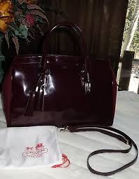 ... large coffee satchels adv  coach legacy pinnacle lowell polished calf  leather lg satchel bag 898 new