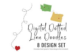We offer two popular choices: Dotted Line Doodles 8 Design Set Heart 127594 Svgs Design Bundles