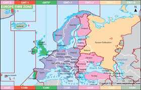 Time Map Europe Time Zone Map In 2019 Time Zone Map Trip Planning Map
