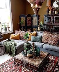 This bohemian space is amazing! Credit: Roxanne McNamara - Home Decor Styles