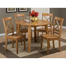 room simplicity drop leaf 42 round dining table set