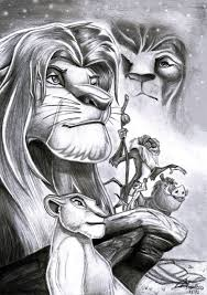 Lion King Disney Disegni Disney Disegni A Matita E Disegno Arte