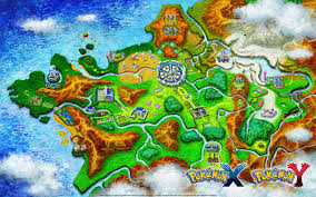 Pokemon Bedroom Wallpaper Pokemon Gold Silver And Crystal World Map Cartography