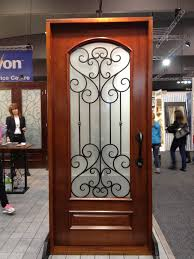door shape options glass insert options iron colour options