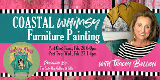 Whimsy furniture Magical Coastal Whimsy Furniture Painting With Tracey Bellion Tickets Multiple Dates Eventbrite If Its Hip Its Here Coastal Whimsy Furniture Painting With Tracey Bellion Tickets