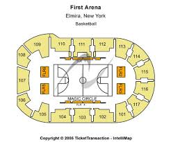 First Arena Tickets In Elmira New York First Arena Seating