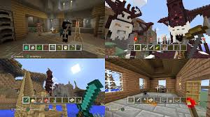 minecraft can be a co op game in two ways one where each player has a controller and you utilize the split screen mode or two where one person is on