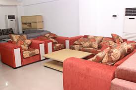 furniture design sofa set. Fabric Queen 7 Seater Sofa Set. By Alibert Furniture Design Set