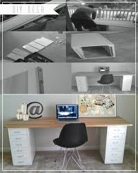 home depot office cabinets. DIY Desk: Poplar Wood \u0026 Metal Corner Brackets From Home Depot, Ikea File Cabinets Depot Office O